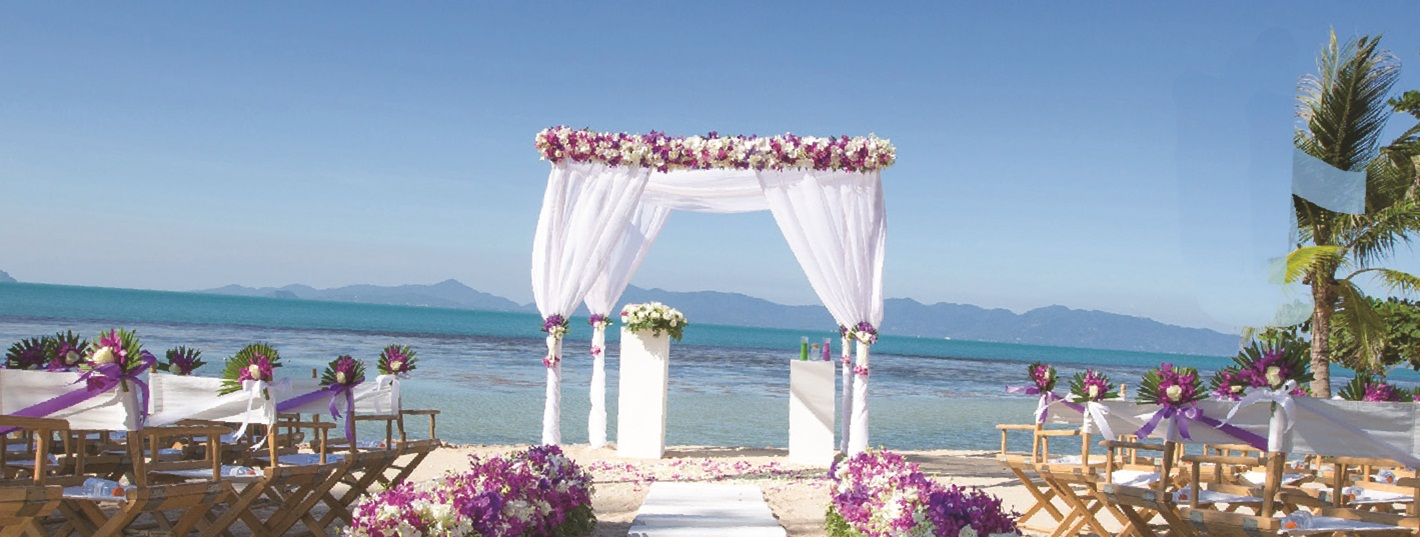 Belmond Napasai Koh Samui Resort wedding package